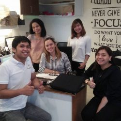 Estancia de Lorenzo Marketing Department with OpenZn Team